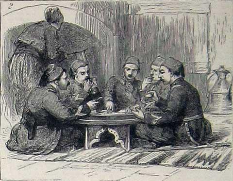 An Officers' Regular Mess