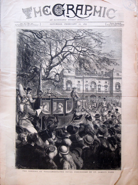 The Graphic Cover, February 17,1877