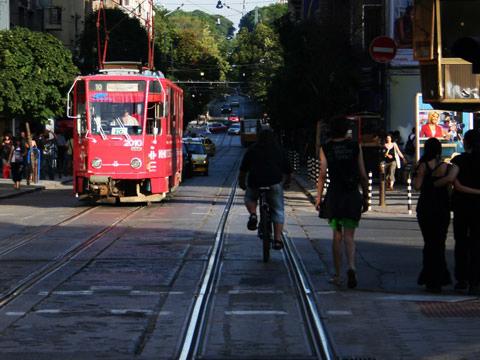 Sofia no 10 tram cervantes