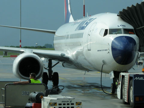sofia-airport-loading-plane