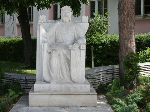 tsar-samuil-statue