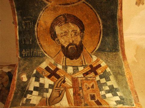 zemen-monastery-st-porphirius-of-gaza-fresco