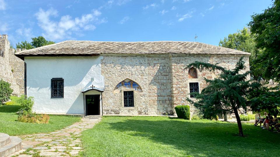 saints cosmas and damian monastery church